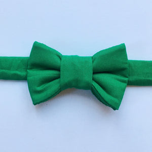 Classic Green Bow Tie For Cats