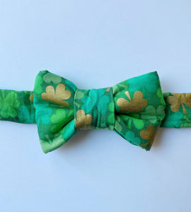 Shamrock Bow Tie For Cats