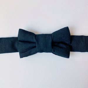 Classic Black Bow Tie for Cats