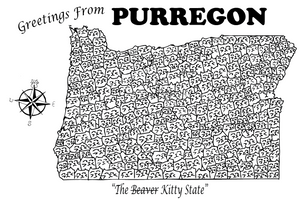 Purregon Postcard