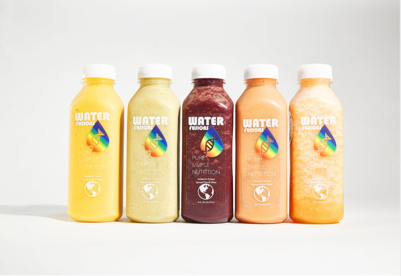Organic nutrient smoothies designed with plant protein, plant adaptogens & super-fruits.
