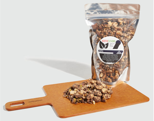 3CPO Keto Granola Ketogenic food