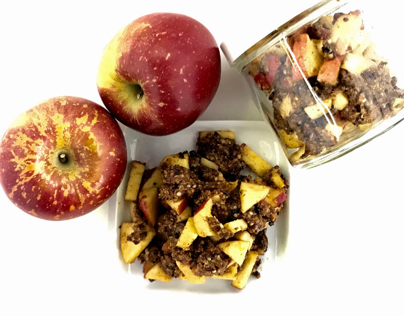 WARM APPLE CRISP Raw Superfood
