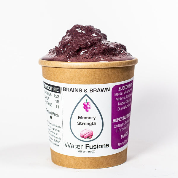 BRAINS & BRAWN Organic Smoothie