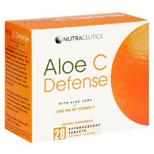 A vitamin C and aloe vera mixture that gives you a bioavailability of antioxidants and stomach ease.