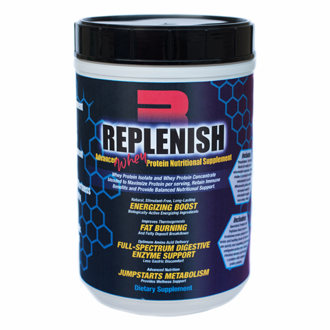 REPLENISH WHEY MEAL REPLACEMENT PROTEIN POWDER