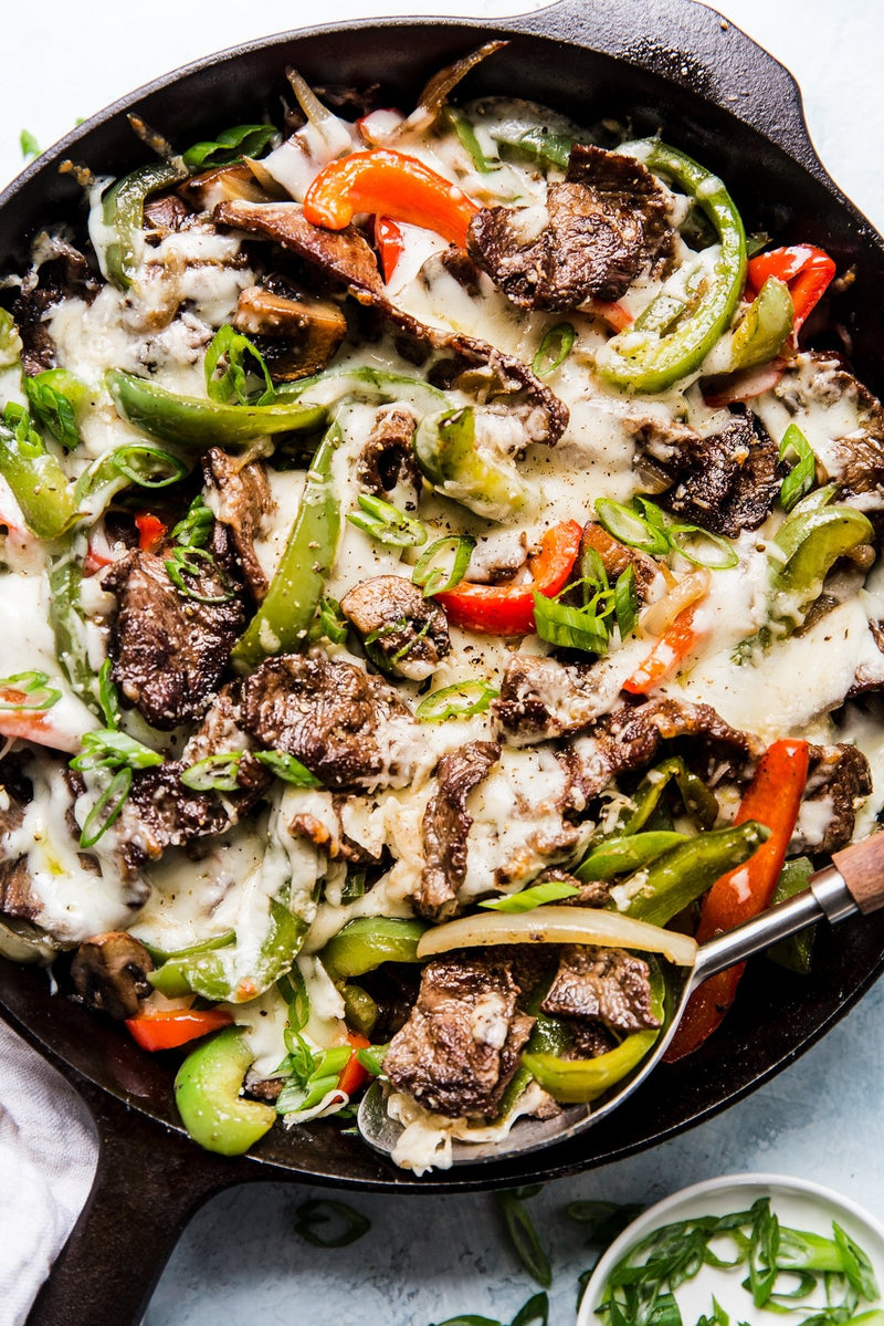 Philly Cheesesteak Ketogenic Prepared Meal