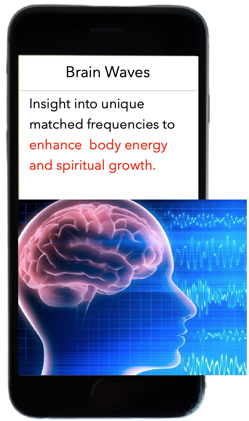 Brain wave can help nourish mental health issues and enhance natural body healing.