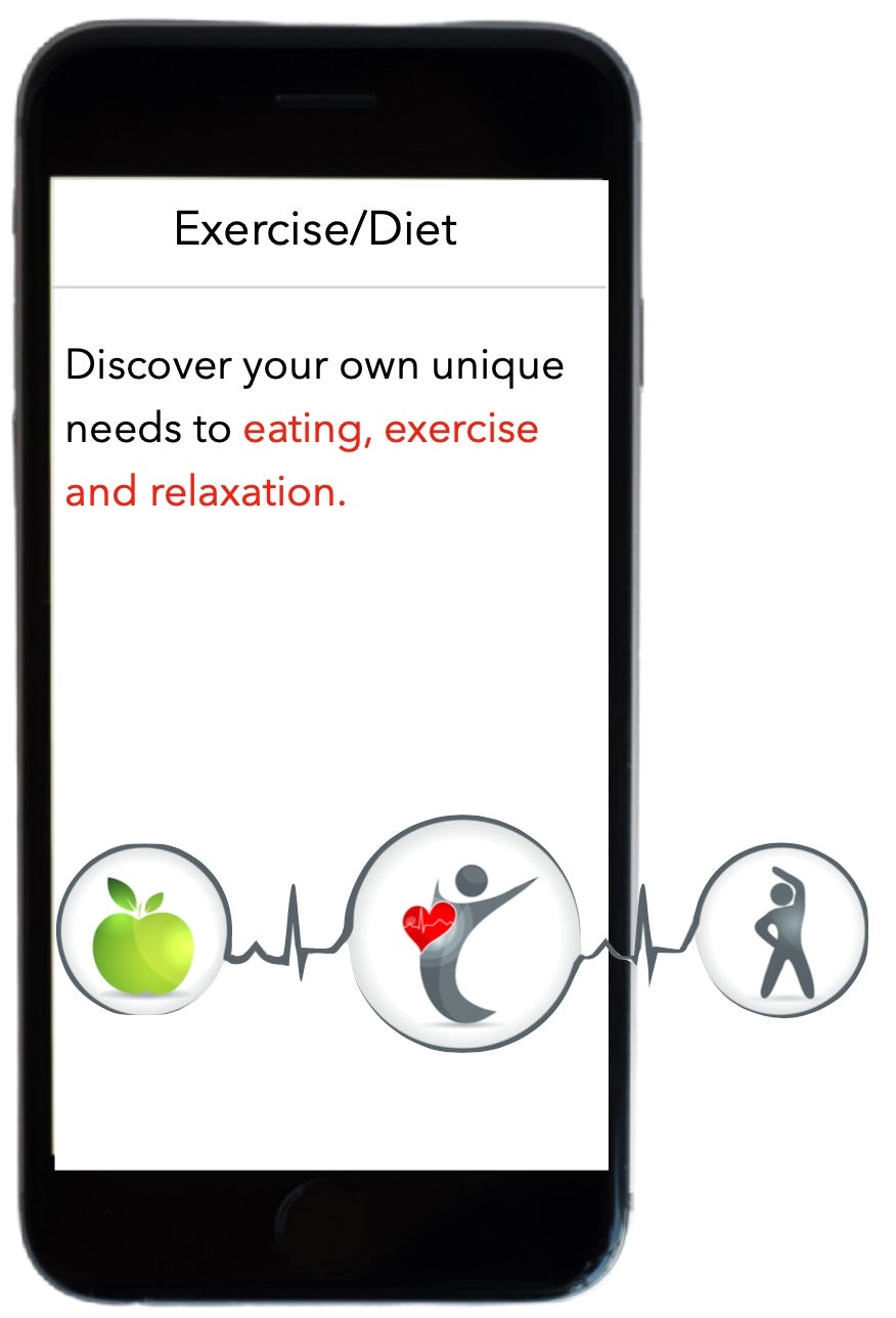 Eating and exercise designed for your body using DNA testing.