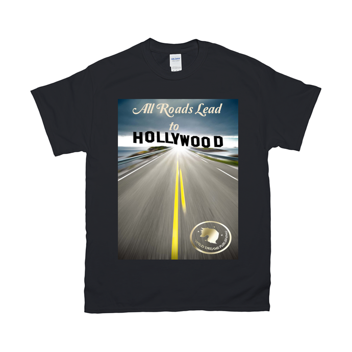 T-Shirts All Roads Lead to Hollywood