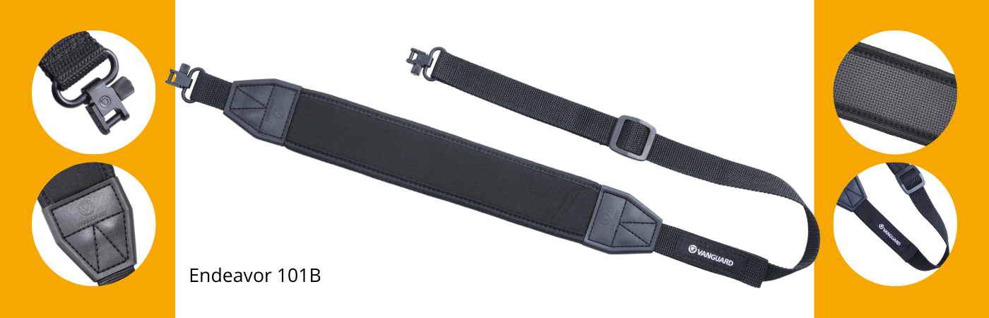 Key features of Endeavor 101B rifle sling