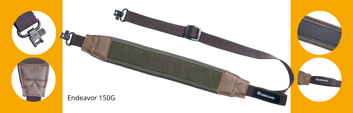 Key features of Endeavor 150G rifle sling