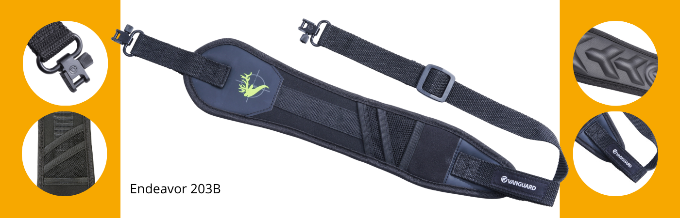 Key features of Endeavor 203B rifle sling