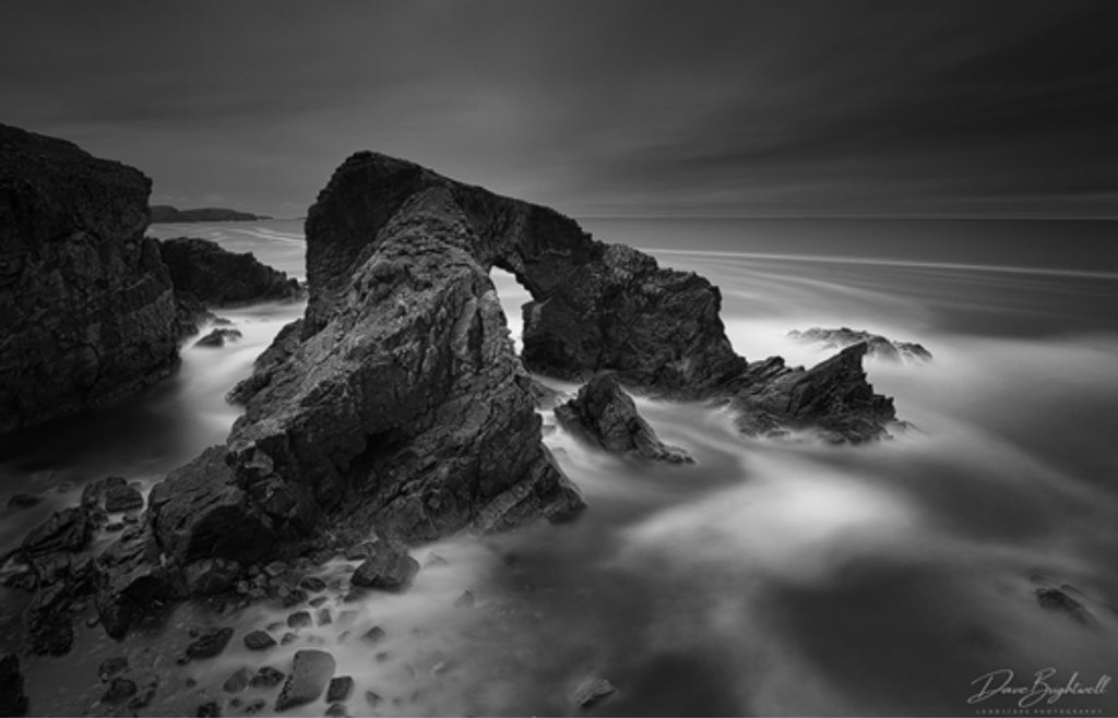 Image by Dave Brightwell using the Luminar 4 B&W tool