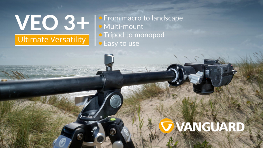 The VEO 3+ is our most versatile tripod ever - Click here to see the range