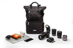 VEO Flex 47M Larger Roll-top Backpack for mirrorless - Black