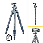 VEO 2S 265CB Carbon Travel Tripod/Monopod with Ball Head - 8kg Load Capacity