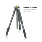 Alta Pro 2+ 264AT 4-section Aluminium Tripod with Multi-Angle Central Column
