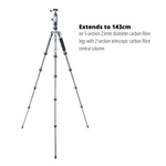 VEO 2 GO 235CB Carbon Travel Tripod - 4kg Load Capacity