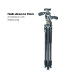 Alta Pro 2+ 263CP Carbon Fibre Tripod with 3-way Pan Head and Multi-Angle Central Column