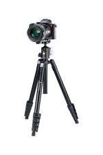 VESTA FB 235AB Aluminium Travel Tripod with Flip Locks- 3kg Load Capacity