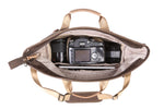 VEO GO 25M KG Roll Top Shoulder Bag - Mirrorless camera + three lenses