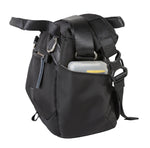 VEO GO 18M BK Small Roll Top Shoulder Bag - Mirrorless camera + one lens