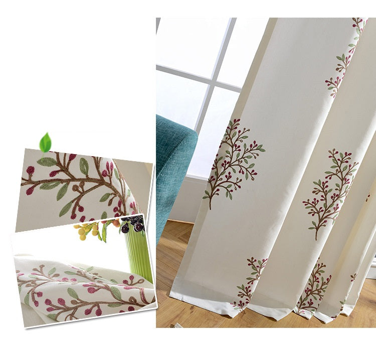 door curtains exquisite embroidery curtains room divider curtain panels