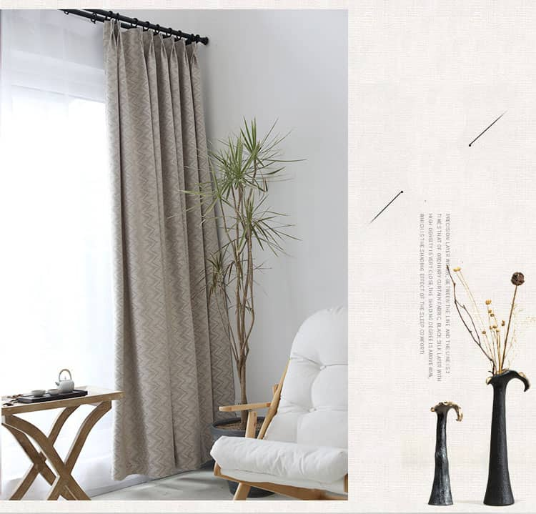 elegant grey vertical stripe light filtering curtains insulated drapes