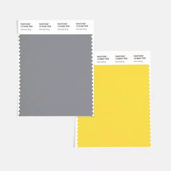 grey yellow of pantone