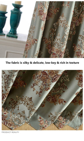 inexpensive European style silky tab top curtains insulated drapes