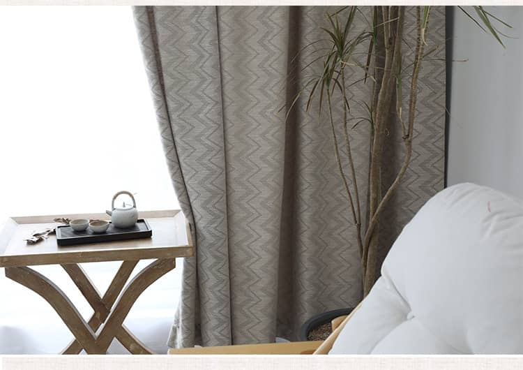 luxury gray sun blocking soundproof curtains for living room ceiling drapes