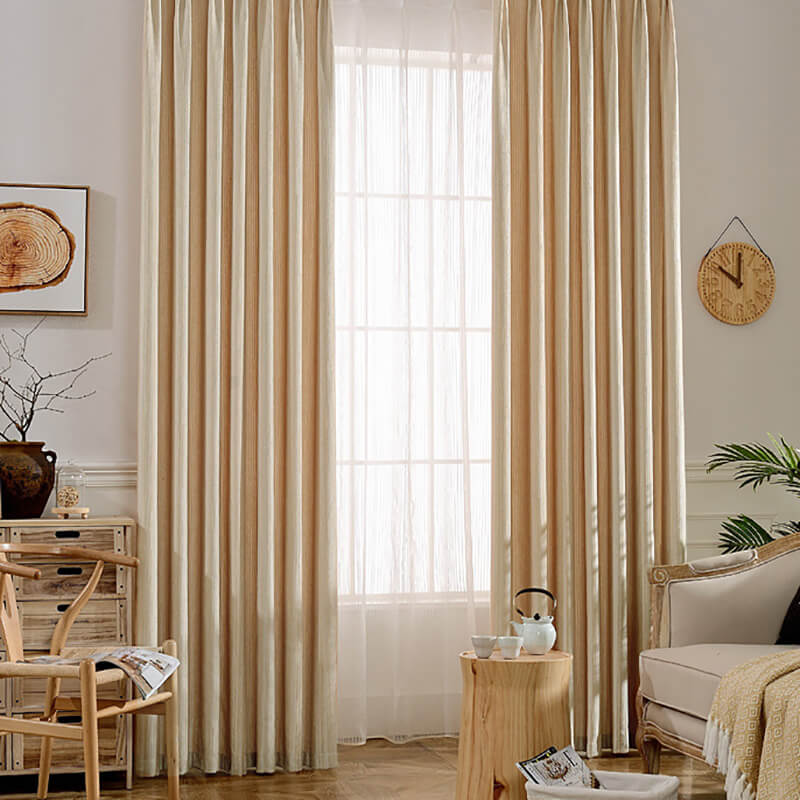 Anady Top Colorful Chenille Curtains and Drapes 2 Panels - Anady Top Space Design