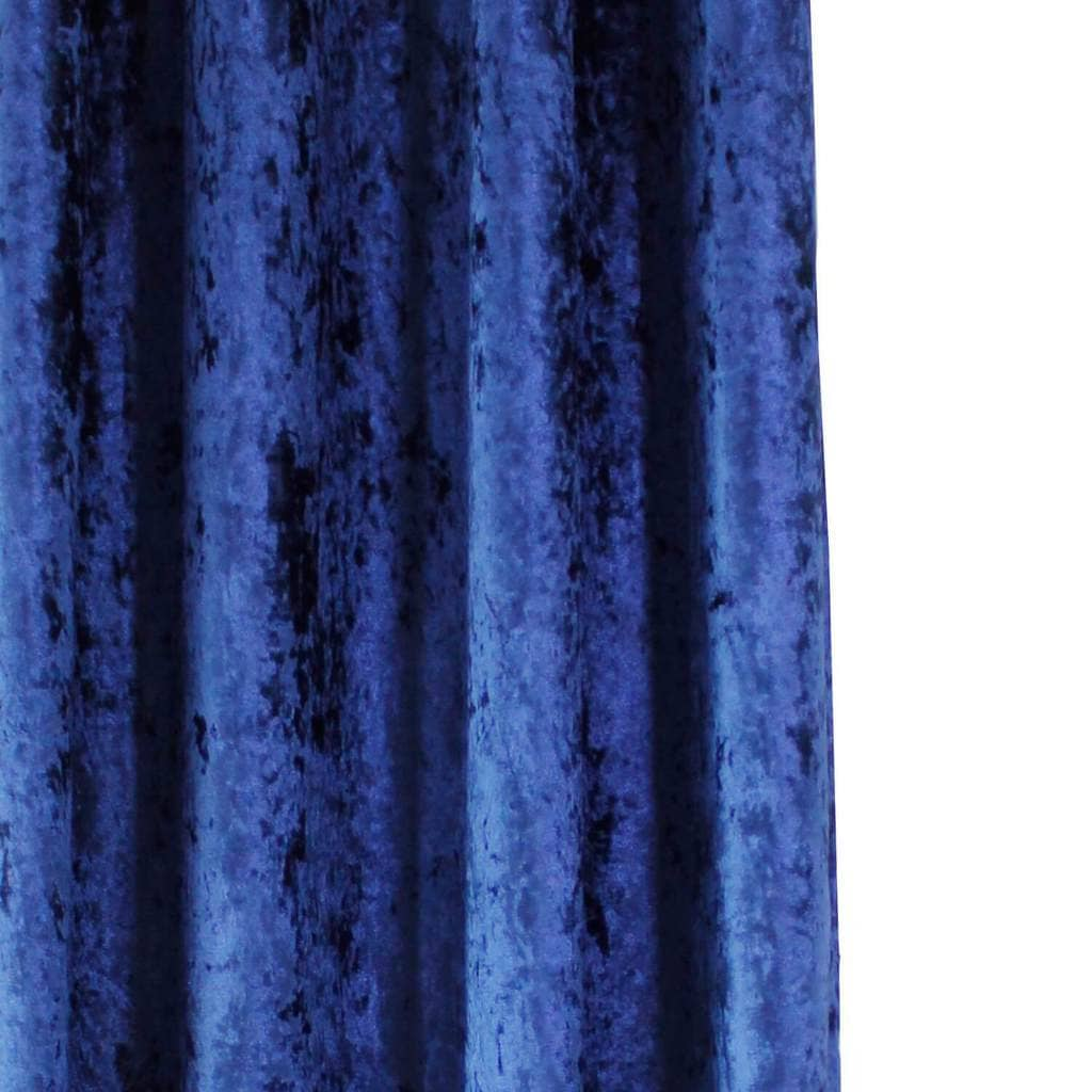 blue velvet bedroom pinch pleat drapes soundproof curtains for sale