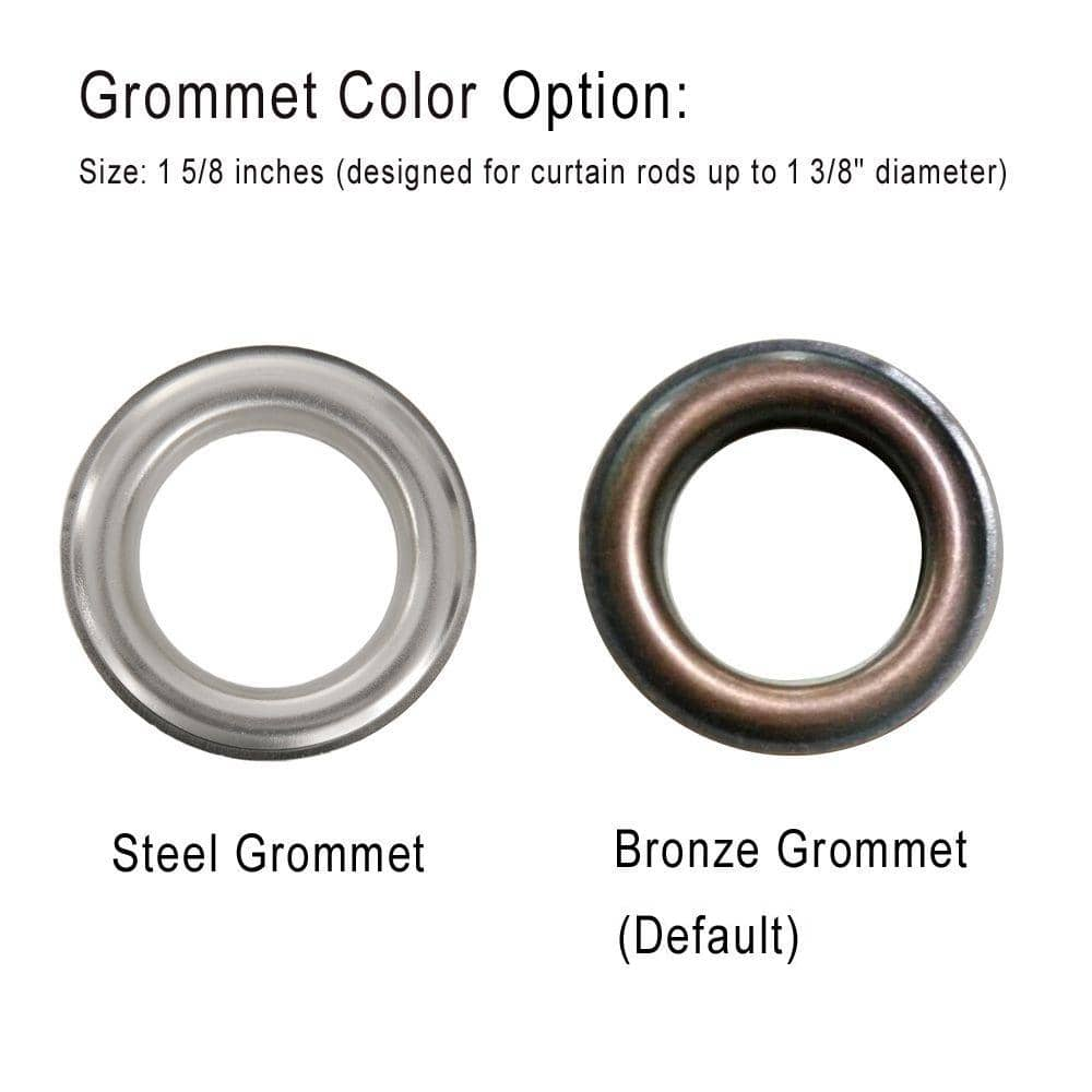 bronze grommets for curtains