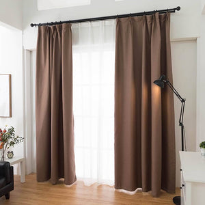 brown linen pinch pleat drapes living room darkening curtains for sale