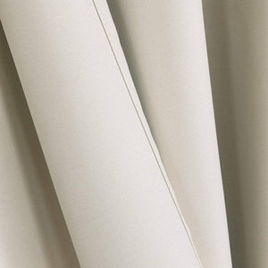 cute beige kitchen light blocking curtains thermal insulated outdoor drapes