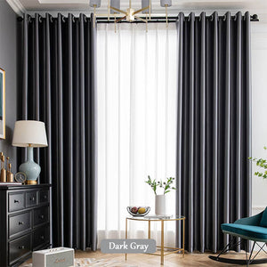 dark grey living room ceiling drapes grommet thermal curtains for sale