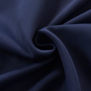 elegant navy grommet curtains soundproof custom ceiling drapes for sale