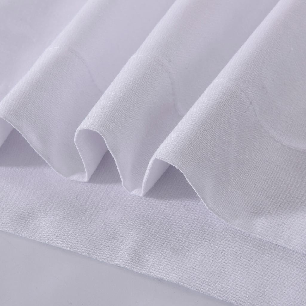 Elegant pure white curtain panels white linen curtains solid white drapes