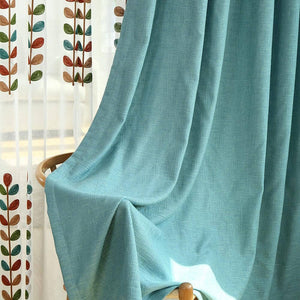 elegant teal blue bedroom blackout curtains soundproof pinch pleat drapes