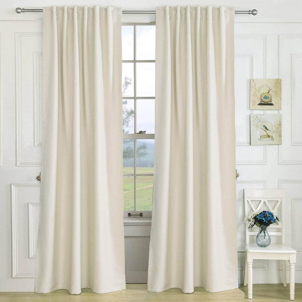 fancy custom beige window drapes living room darkening curtains for sale
