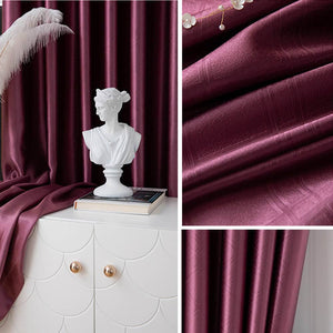 fuchsia pink kitchen window drapes bedroom eclipse blackout curtains for sale