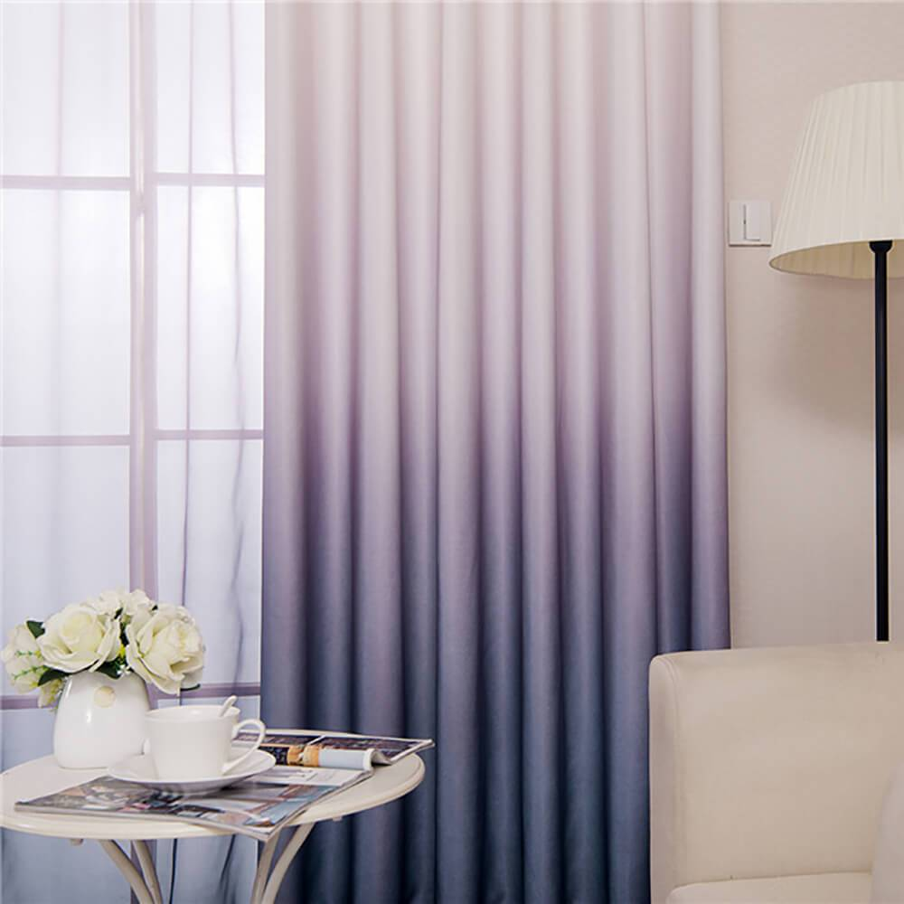 gray purple ombre door curtains ceiling drapes for sale
