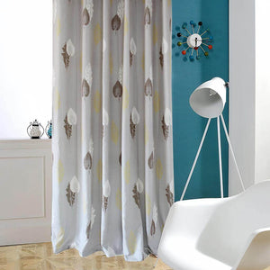 Gray room divider curtain privacy noise cancelling ceiling drapes