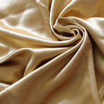 KoTing Gorgeous Gold Blackout Curtains Thermal Insulated Drapes for Bedroom 2 Panels - Anady Top Space Design