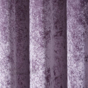 lilac velvet thermal insulated curtains dining room pinch pleat drapes