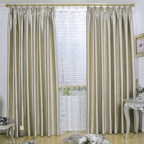 luxury living room pinch pleat drapes ivory eclipse blackout curtains for sale