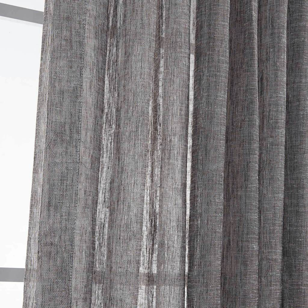 Modern grommet sheer curtains grey outdoor sheer curtain panels