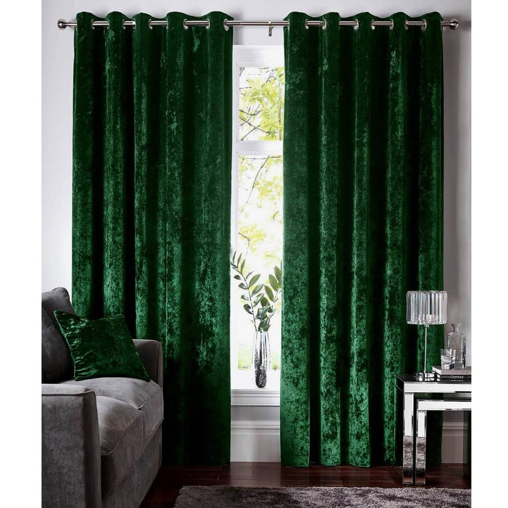 modern living room grommet drapes forest green velvet curtains for sale